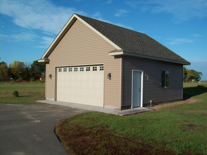 Raelyn builders garages and pole barns for 2 car pole garage